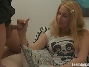 Bertha is a blonde cutie who will not affirm no to a learn of