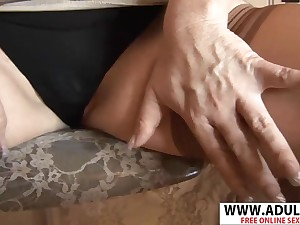 Smoking Mother I´d Like To Fuck Dawn Jilling  Gives Handjob Hard Steamy Bud - dawn jilling
