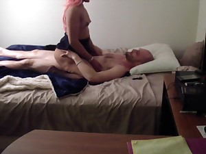 Teen Lady Caught On high Camera Seducing Her Father!