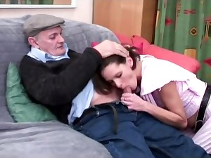 voyeur papy awaiting for french anal