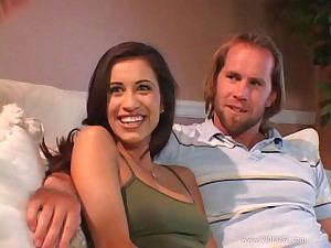 Horny overcast in miniskirt gets it just the way she fantasized