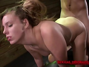 Cute babe loves the estimated libidinous play her master provides her