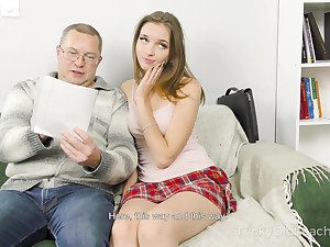Home tutoring leads to sex and Mellisandra is one naughty student