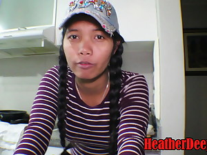 18 week pregnant thai teen heather deep safe keeping deepthroat