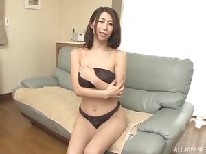 Hot arse Japanese cutie Ayumi Shinoda moans during nice sex